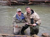 Mike Nichols- Reel River Guide Service Southington, Ohio # 216-533-7488